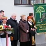 Marijampolė pagerbė K. Donelaitį