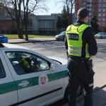 Šventiniu laikotarpiu policija sieks užtikrinti didesnį saugumą keliuose