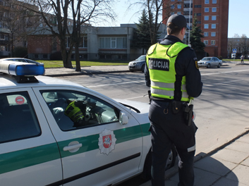 Kur stovi policija Marijampolėje?