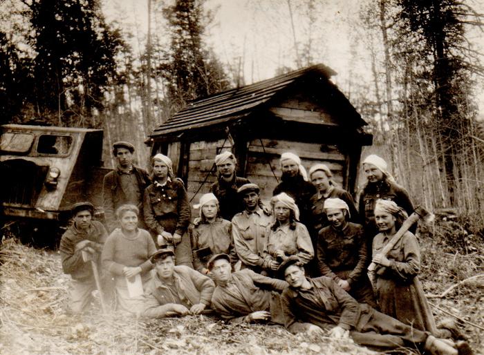 Miško kirtėjai (1957 m.).