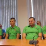 Marijampolės atstovai išlydėti į jaunimo vasaros olimpines žaidynes
