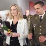 Paminėtas Lietuvos didžiojo kunigaikščio Vytenio bendrosios paramos logistikos  bataliono kovinės vėliavos įteikimo 20-mečio jubiliejus
