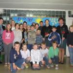 Pareigūnių apsilankymas Kybartų vaikų globos namuose