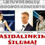 """Lietuvos balsų labdaros koncertas """"Pasidalinkime šiluma"""""""