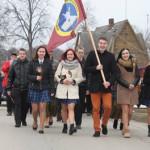 Liudvinavas šventė gimnazijos inauguraciją