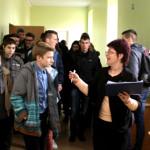 Atvirų durų dienoje – gausus būrys jaunuolių ne tik iš Marijampolės, bet ir aplinkinių rajonų