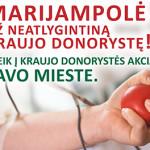 Kviečiame dalyvauti Kraujo donorystės akcijoje