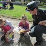 Vaikus į vasarą šventiškai išlydėjo ir policijos pareigūnai