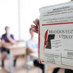 2015 metų pagrindinės sesijos valstybinių brandos egzaminų rezultatai