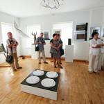 Marijampolėje atidaryta jubiliejinė paroda dailininko Vytauto Kašubos 100-mečiui