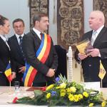 Marijampolė su Rumunijos Rešicos miestu pasirašė bendradarbiavimo sutartį