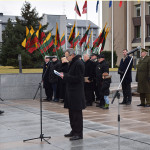 Valstybės atkūrimo diena Marijampolėje – su rikiuote, apdovanojimais ir  istorine Prezidento kalba