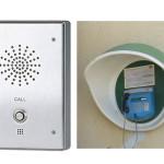 Jūsų patogumui – pagalbos mygtukai bei taksofonai prie policijos komisariatų