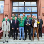 LSKL II vaikinų grupės bronzos medaliai įteikti MK studentams