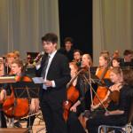 Marijampoliečius žavėjo jaunimo simfoninio orkestro iš Vokietijos profesionalumas