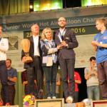 Trečiojo Pasaulio jaunimo karšto oro balionų čempionato nugalėtojas – marijampolietis Rokas Kostiuškevičius