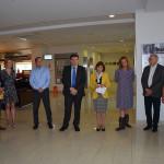 Marijampolėje Moldovos ir Rumunijos dalininkų parodą atidarė ambasadorius