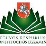 Rugsėjo 27-ąją – Konstitucijos egzaminas