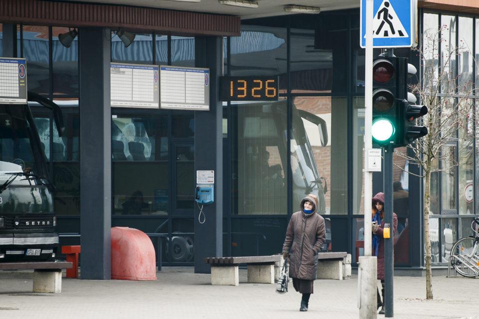 Marijampolės autobusų stotis.