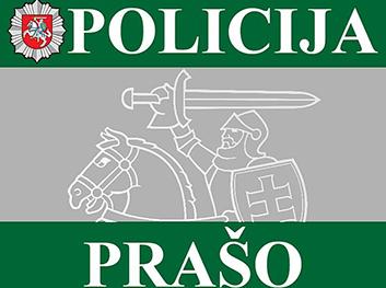 Kelių policijos skyriaus pareigūnai prašo pagalbos