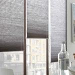Plisuotos žaliuzės uždengia nestandartinius langus
