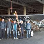 """Apie legendinių generolo Antano Gustaičio lėktuvų ANBO atkūrėjus ir VĮ """"Oro navigacija"""""""