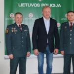 Marijampolės policijoje lankėsi Estijos policijos pulkininkas