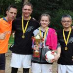 Profesijų futbolo šventė Kačerginėje
