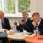Seimo pirmininko V. Pranckiečio vizitas Marijampolės kolegijoje
