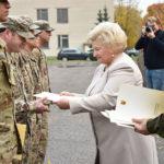 Vytenio bendrosios paramos logistikos batalione apdovanoti JAV kariai