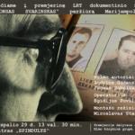 """Kviečiame į premjerinę LRT dokumentinio filmo  """"Alfonsas Svarinskas"""" peržiūrą Marijampolėje!"""