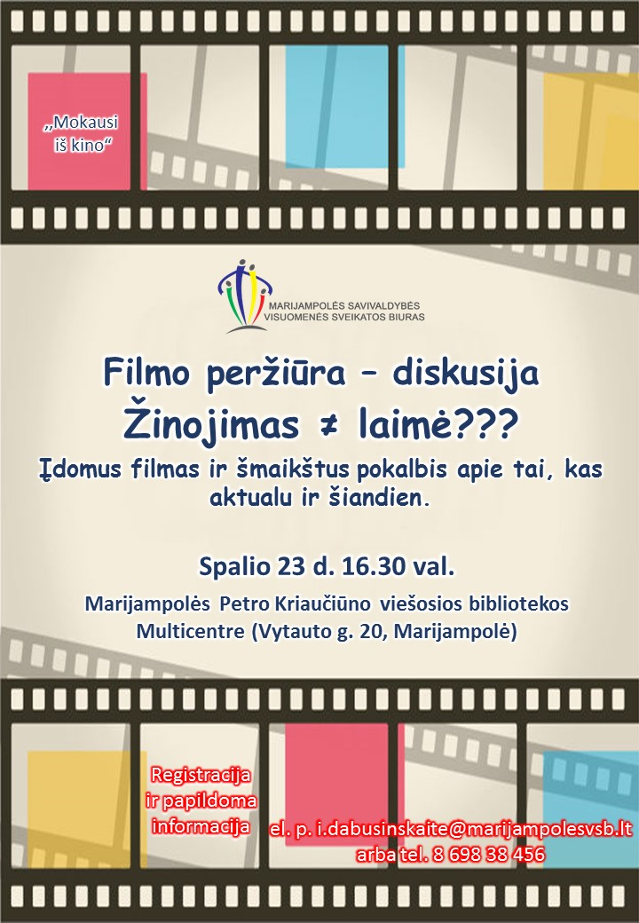 Filmo peržiūra-diskusija