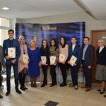 Įteiktos vardinės Marijampolės savivaldybės stipendijos