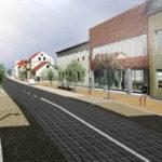 Vyksta Kalvarijos miesto centrinės dalies sutvarkymo darbai