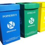 Pakuočių atliekų konteinerius turės visi ir nemokamai. Tik rūšiuokime!