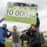 """Auksinis """"Sūduvos"""" triumfas Lietuvos futbole apvainikavo Marijampolės sporto pasiekimus!"""