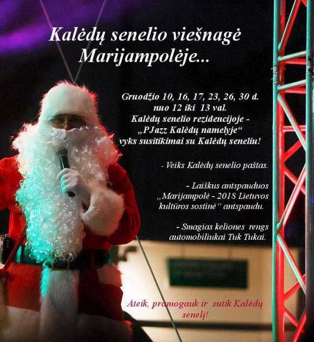 Kalėdų senelio viešnagė @ Marijampolė