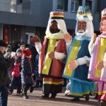 Trys karaliai sveikino marijampoliečius