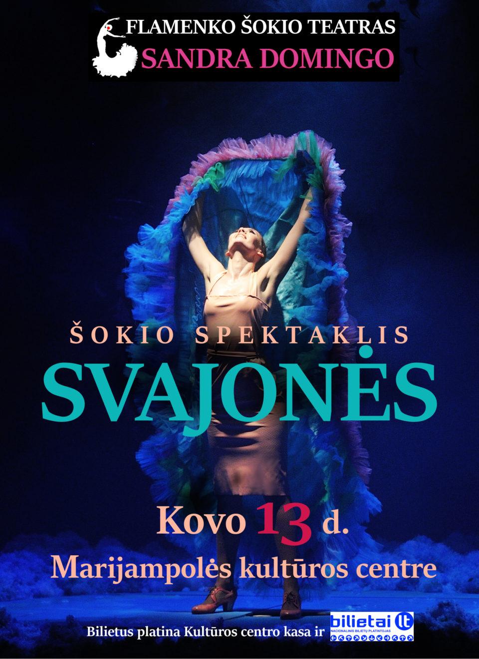 Šokio spektaklis SVAJONĖS @ Marijampolės kultūros centras