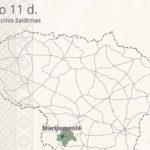 Kovo 11-ąją – nepriklausomybės paieškos Marijampolėje