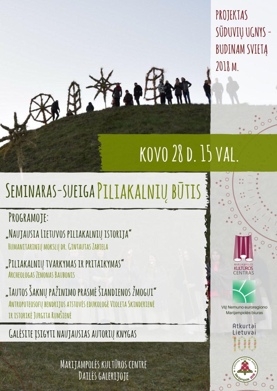Seminaras-sueiga @ Marijampolės kultūros centras