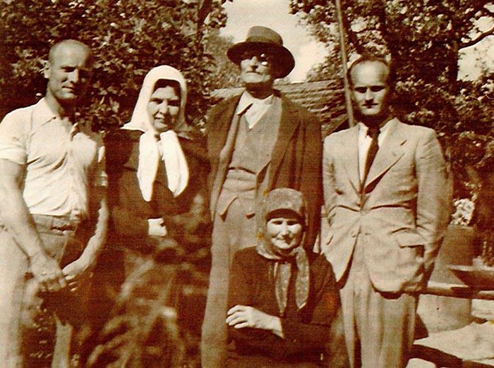 Lietuvos rezidento Kazio Griniaus šeima