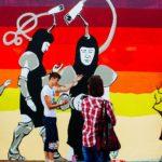 """""""Malonny"""" sienų tapybos konkursą laimėjo piešinys, kviečiantis daryti tai, ko negalima"""