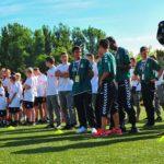 Tarptautiniam jungtinio futbolo turnyrui pasibaigus