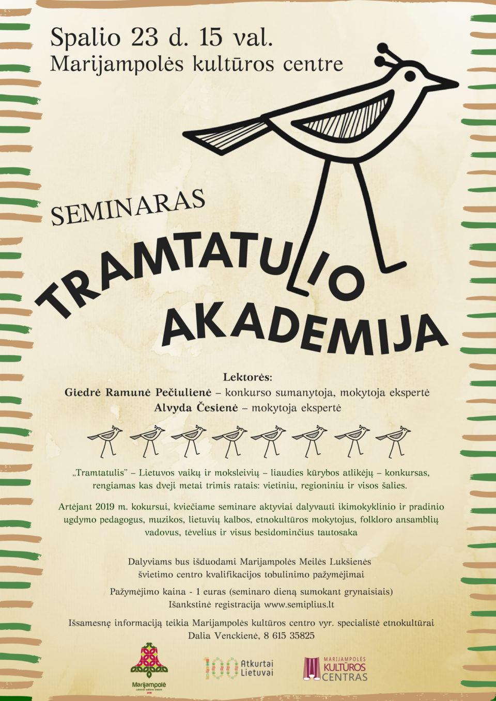 Seminaras @ Marijampolės kultūros centras