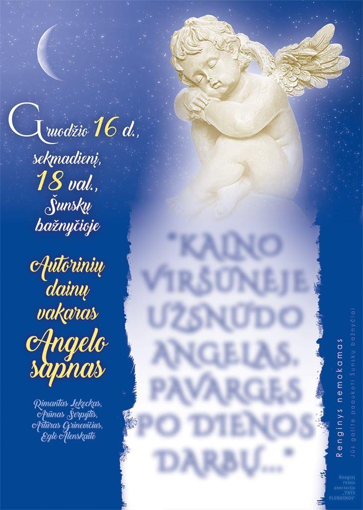 Autorinių dainų vakaras @ Šunskų bažnyčia