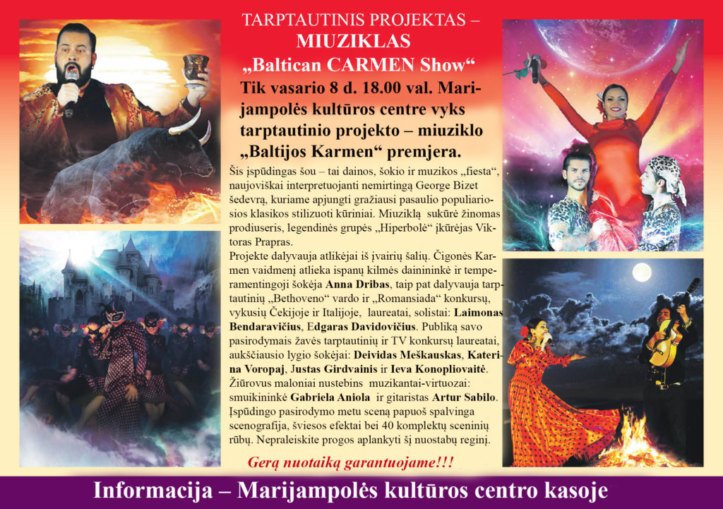 Miuziklas @ Marijampolės kultūros centras