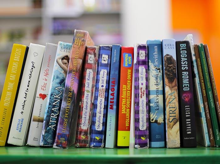 Skaitomiausių 2018 metų vaikų ir jaunimo knygų TOP 5