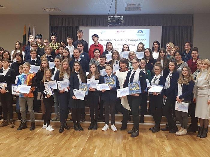 Respublikinis jaunųjų oratorių konkursas Tauragėje