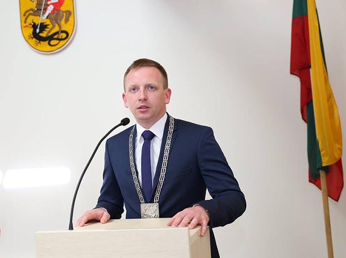 Prisiekė naujasis Marijampolės savivaldybės meras Povilas Isoda ir Taryba